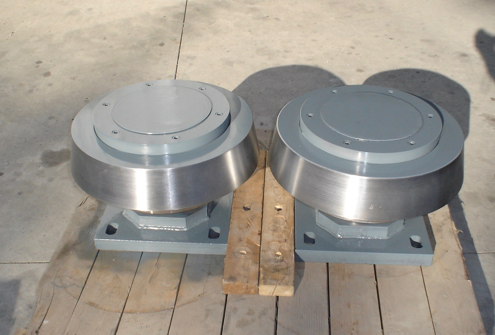 Heavy Duty Thrust Rollers